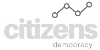 Citizens' Democracy